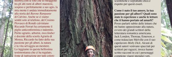 Per fare un uomo ci vuole un albero
